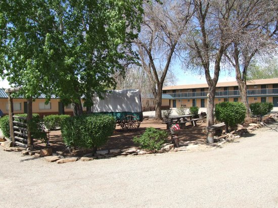 Sleeping Ute Mountain Motel :                   View from Front Office