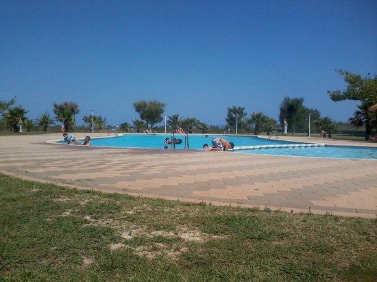 Camping L'Aube:                   zwembad