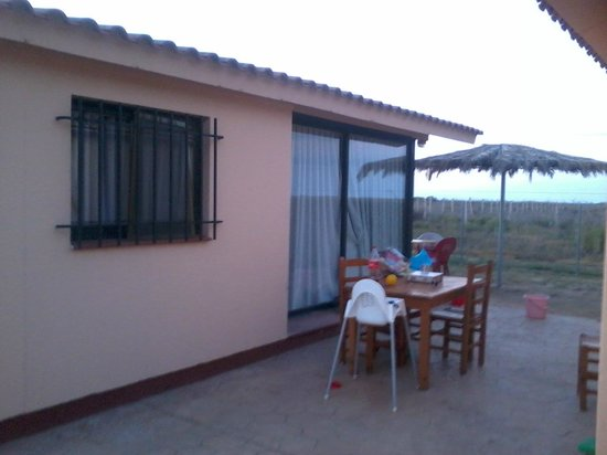 Camping L'Aube:                   bungalow