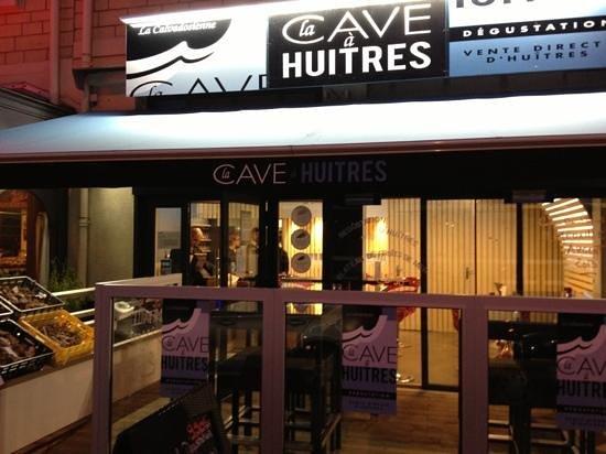 La Cave a Huitres :                                     la cave à huîtres Caen