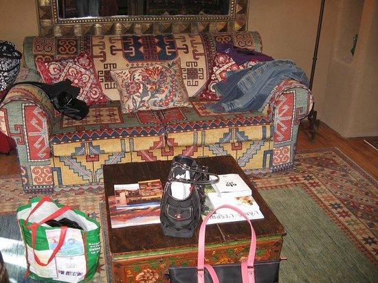 Inn of the Five Graces:                   Amber - Living Room