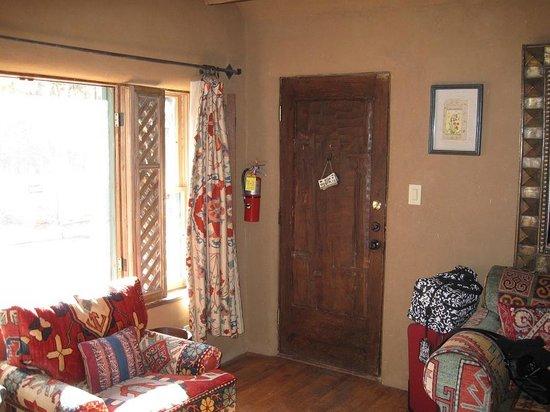 Inn of the Five Graces:                   Amber - Front door