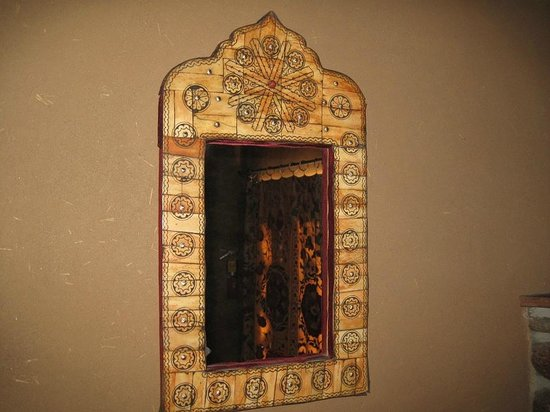 Inn of the Five Graces:                   Amber - Living room mirror