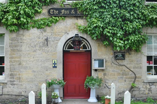 The Fox & Hounds Hotel:                   The Fox and Hounds entrance