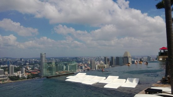 Marina Bay Sands:                   MBS Infinity Pool