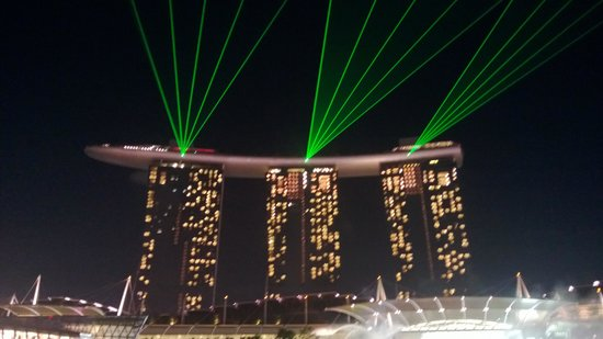 Marina Bay Sands:                   MBS Light Show