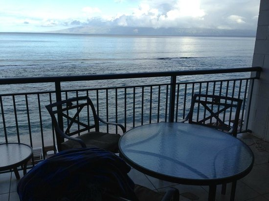 Makani Sands:                   View from room