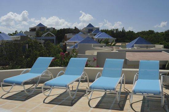 Mangrove Villas at Indio Reef: Roof top Lounge