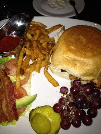 Gridiron Bar & Grill:                   grilled chicken sandwich