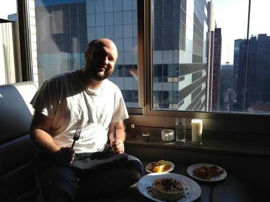 W New York - Times Square: Breakfast in Room