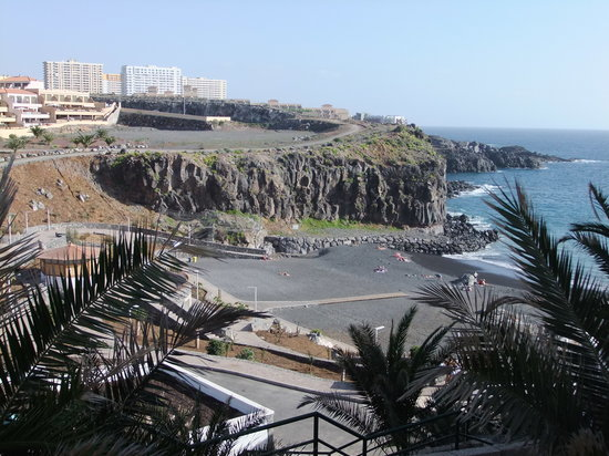 Callao Salvaje, Spanyol:                   Strand und Park (by B.W)
