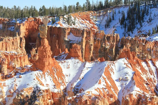 Best Western Plus Bryce Canyon Grand Hotel: Bryce in February