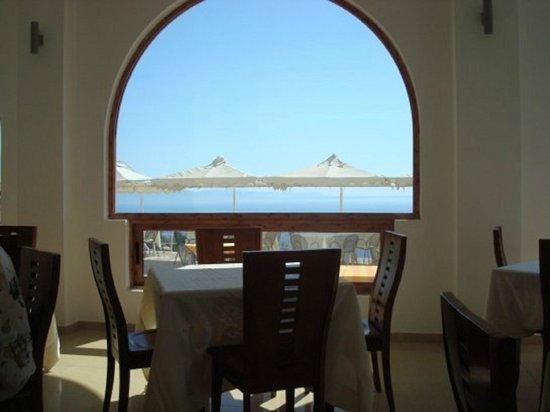 Hotel Palace Lukova: Restaurant Panoramic View