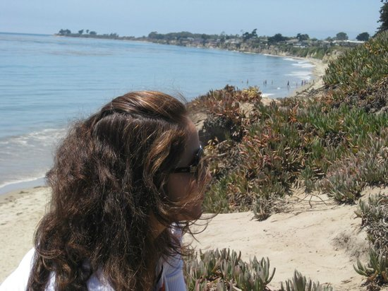 Santa Barbara Family Vacation Center:                   Views of romantic bike ride with hubby..