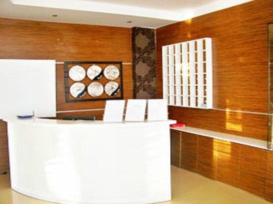 Hotel Palace Lukova: Reception