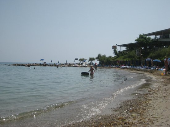 Planos Bay Hotel:                   small beach