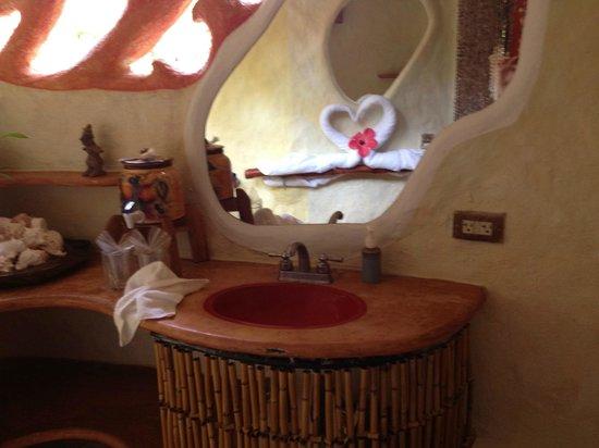Playa Escondida:                   Bathroom 'guest house'