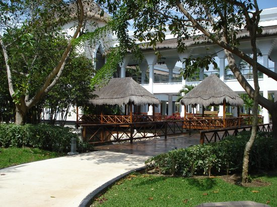Grand Riviera Princess All Suites Resort & Spa:                                                       inside grounds