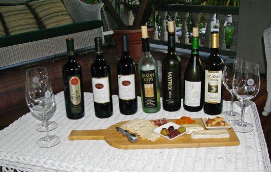 Calderwood Inn :                   A Fine Wine Tasting