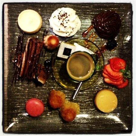 Restaurant Calendal:                   cafe gourmand
