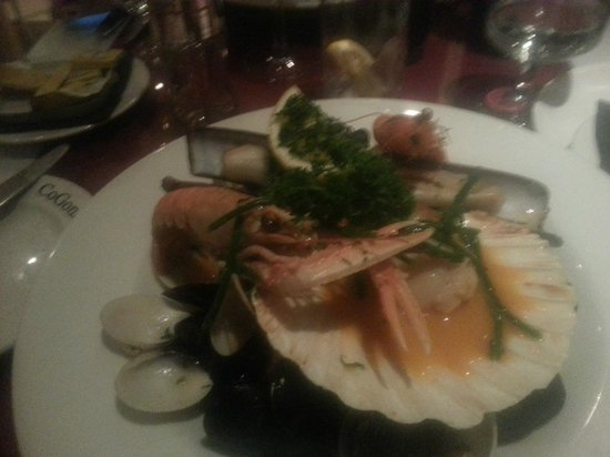 CoGoni's Ristorante Italiano:                   Seafood platter