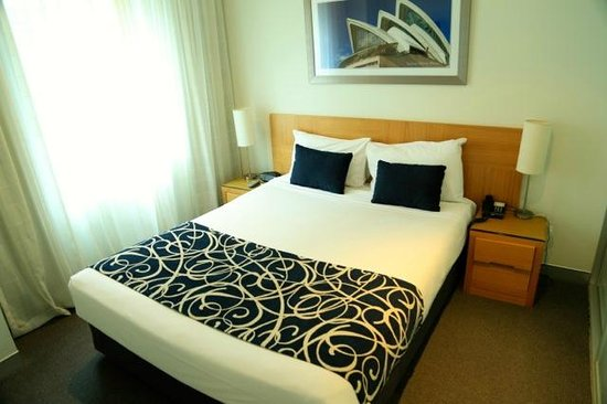 Wyndham Sydney Suites: Bedroom