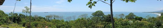 La Cusinga Eco Lodge: great view of Ballena Marine National Park