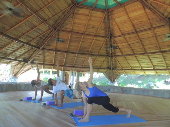 La Cusinga Eco Lodge: Our Yoga Studio