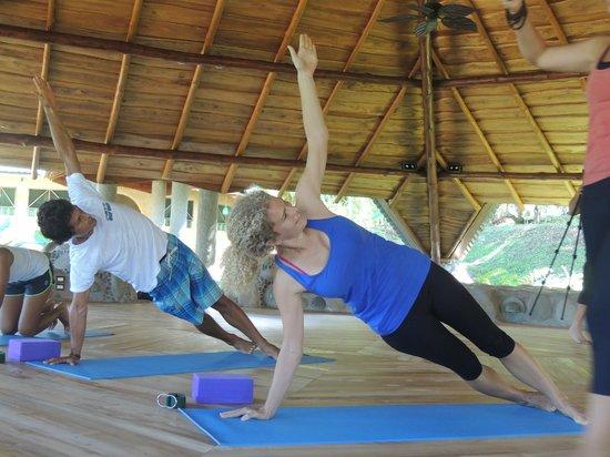 La Cusinga Eco Lodge: At levels of Yoga