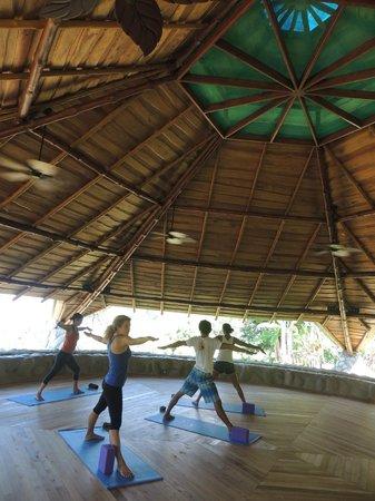 La Cusinga Eco Lodge: Yoga