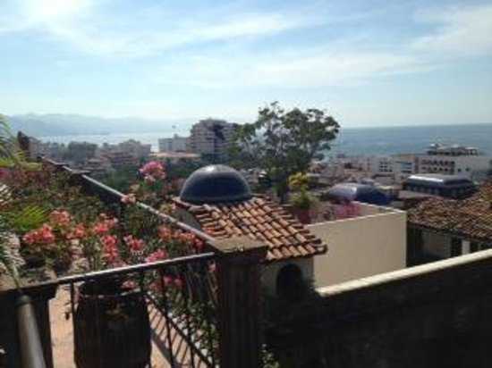 Hacienda San Angel :                   View from room
