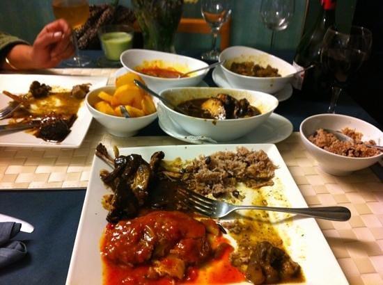 O-Tower Caribbean Cuisine:                   fantastic food fantastic value