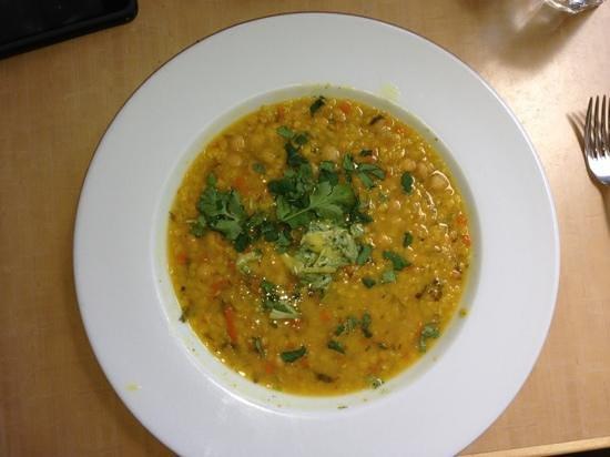 Pyramid Bistro :                   lentil soup