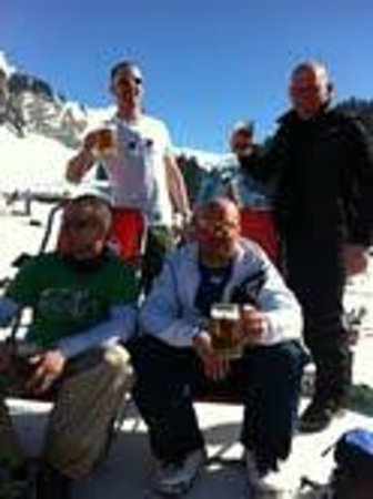 More Mountain - The Loft :                   beer on the slopes .-)
