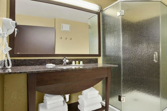 Microtel Inn & Suites by Wyndham Buda at Cabela's: Suite Bathroom