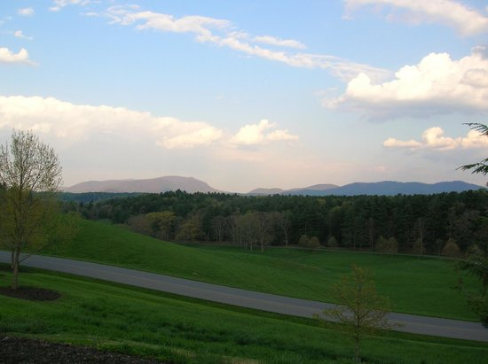 Inn on Biltmore Estate:                   View of the surrounding area at the Inn