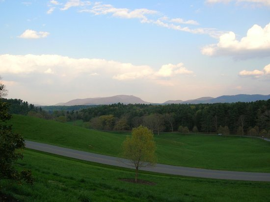 The Inn on Biltmore Estate:                   View of the surrounding area at the Inn