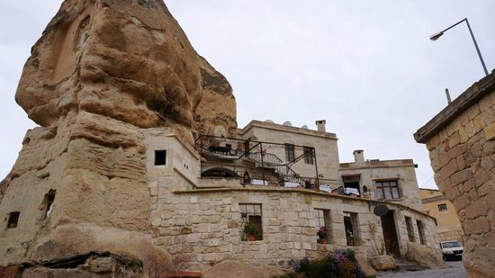 Divan Cave House:                   Hotel from outside.
