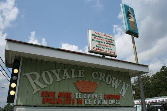 Royale Crown Homemade Ice Cream and Grille: Welcome to Royale Crown!