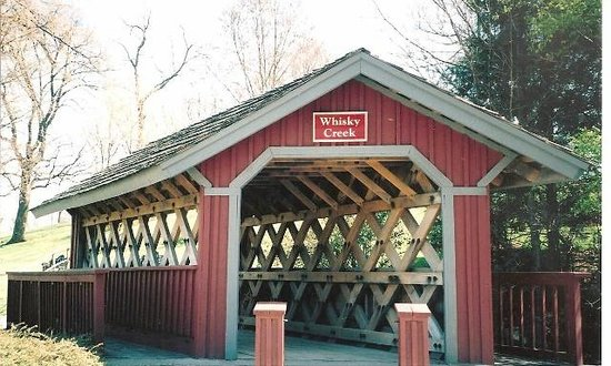 Whisky Creek bridge on Maker's Mark property.