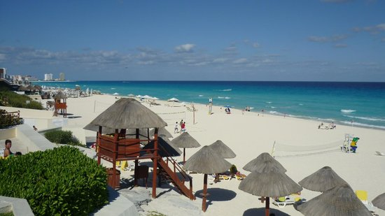 Park Royal Cancun:                   plage