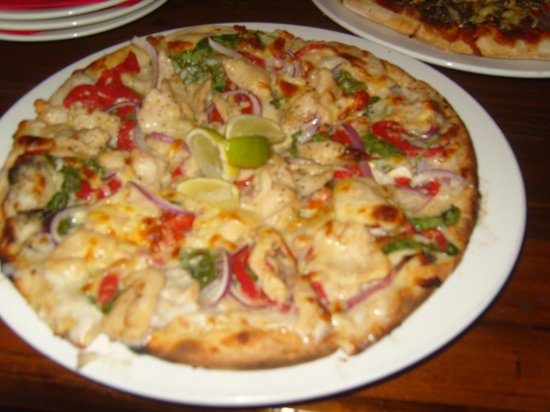 Station Bar & Wood Fired Pizza:                   Croc Pizza