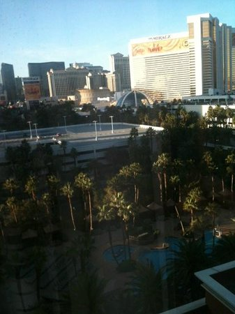 Treasure Island - TI Hotel & Casino :                   view from our room