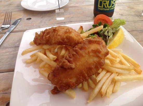 Akaroa Fish and Chips:                                     Great Fish Supper