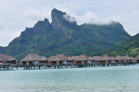 Four Seasons Resort Bora Bora: mountain view