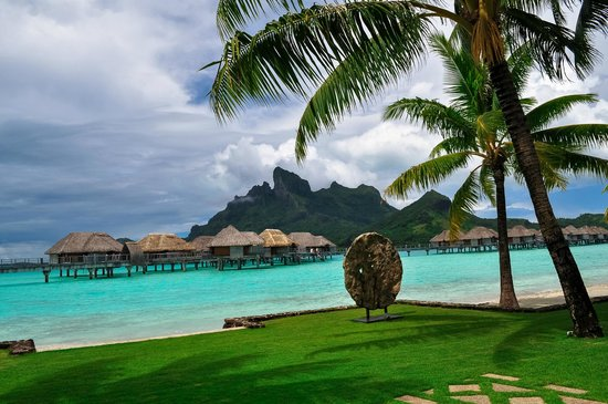 Four Seasons Resort Bora Bora: resort view