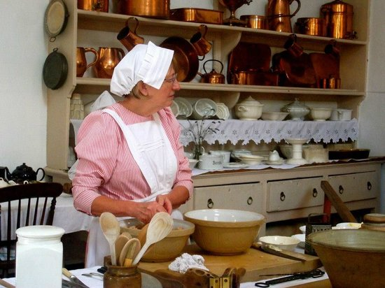 Shugborough:                   The kitchen