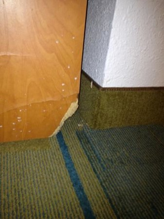 La Quinta Inn & Suites Round Rock North:                   Please replace this furniture, dust off the cobwebs and pick up the loose chan