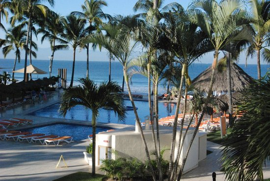 Marival Resort & Suites:                   The View from our room (6108)