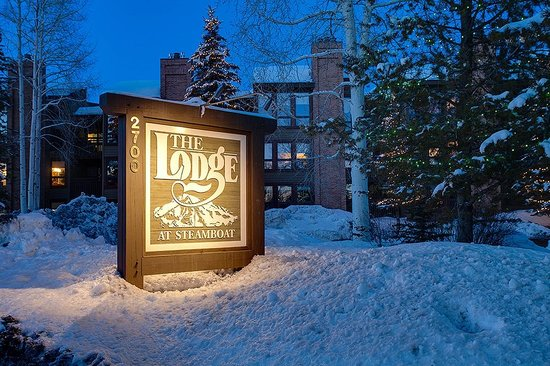 The Lodge At Steamboat: The Lodge Sign